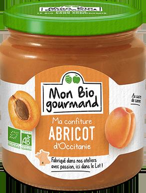 Mon Bio Gourmand - Confiture Bio à l'abricot d'Occitanie