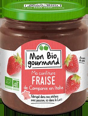 Mon Bio Gourmand - Confiture Bio à la Fraise de Campanie