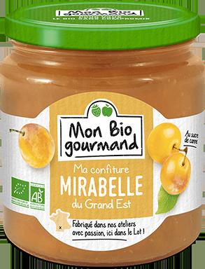 Mon Bio Gourmand - Confiture Bio à la Mirabelle du Grand-Est