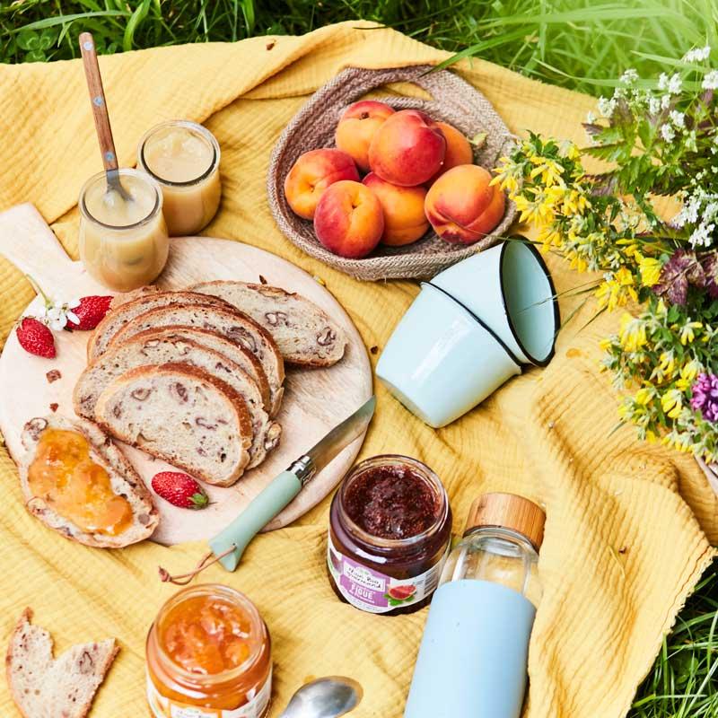 Mon Bio Gourmand - Confitures bio et compotes bio - Tartines gourmandes